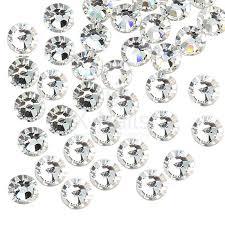 Broušené Kamínky Na Nehty Ss6 2 Mm Se Swarovski Efektem 20 Ks Silver