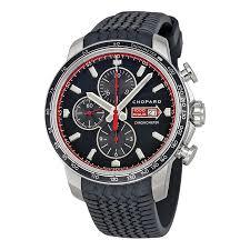 chopard watches jomashop chopard mille miglia gts chrono black dial black rubber racing tires men s watch