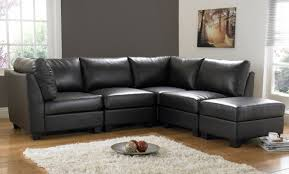 unique small leather sectional sofa 39 in designing home inspiration with small leather sectional sofa black leather sofa