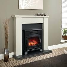 flat electric fireplace insert