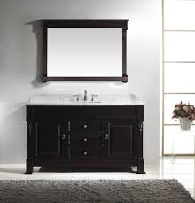 amazing large bathroom vanity single sink virtu usa huntshire inch in dark walnut w italian carrara