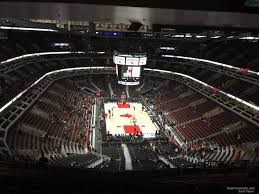 United Center Bulls Seating Chart United Center Section 310 Chicago Bulls Rateyourseats Com