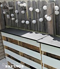 diy pallet patio bar. DIY Pallet Patio Bar Diy E