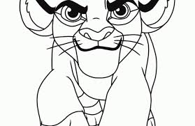 Kids Coloring The Lion King Coloring Pages Lion King Coloring