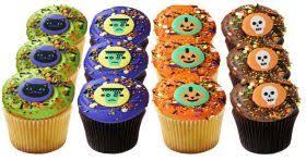 <b>Happy Halloween</b> Dozen Georgetown Cupcake
