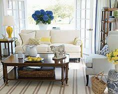 white blue and yellow living room white sofa blue yellow living room