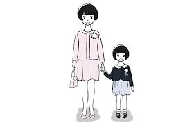 入学式入園式の無料素材イラスト おしゃれでかわいいフリーイラスト