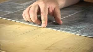 How To Install Linoleum Square Tiles : Letu0027s Talk Flooring   YouTube