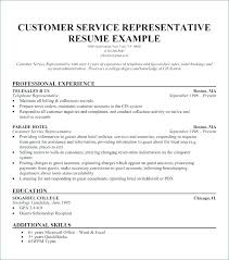 Resume Qualifications And Skills Examples Example Of Resume Interesting Customer Service Representative Resume Sample