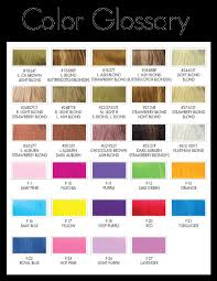 Hair Color Chart