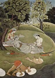 essay on ra ana mughal miniatures of the ra ana commissioned by  ra ana