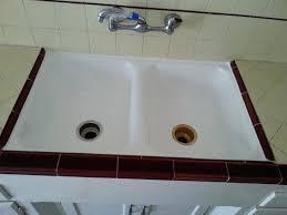 medium size of porcelain kitchen sinks resurfacing bathtub refinishing main drain cleanout clog my sink is