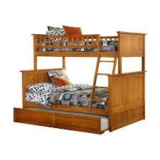 Nantucket Bedroom Furniture Shop Atlantic Furniture Nantucket Carmel Latte Twin Over Full Bunk