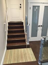 dark cork flooring brown salami resilient stairs