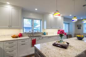 quartz countertops. Ecclectic Kitchen In West Chester PA With Windermere Cambria Quartz Island Countertops Eased Edge By