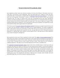 Grad School Essays Writing A Good Personal Statement For Grad School Grad School