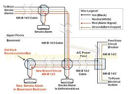 alarm wiring diagrams & how to install a hardwired smoke alarm fire smoke damper installation detail at Wiring Smoke Alarm And Fire Control System Purge