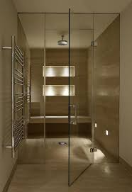 frameless glass steam rooms sauna screens glasstrends london frameless shower doors cubicles