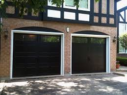 Enchanting Black Door House With Best 25 Garage Doors Ideas On Pinterest Painted
