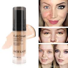 full cover liquid concealer makeup 6ml eye dark circles cream face corrector waterproof make up base cosmetic dark circle foundation primer from