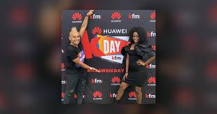 Kfm Charts Following Her Huawei Kday Performance Yanga Joins Carl On