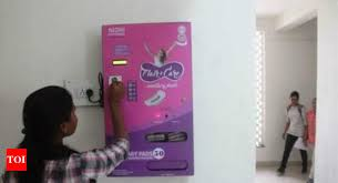 Napkin Vending Machine Classy Aai AAI Instals Sanitary Napkin Vending Machines At NSCBI Airport