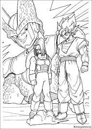 Dragon Ball Z Kleurplaten Kleurplateneu