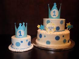 10 Baby Boy 1st Birthday Cupcakes Photo Baby Boy First Birthday