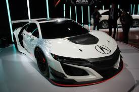 2018 acura nsx gt3. simple acura 2017 acura nsx gt3 front view for 2018 acura nsx gt3
