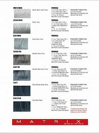 Novacolor Hair Color Chart Silver Hair Formulas Using Matrix Elizabethjoannehair