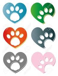 Cat Paw Design Creative Design Of Dog And Cat Paw