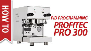 How To Program the PID on a Profitec Pro 300 Espresso Machine