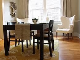 Decor   Interesting Area Rugs Dining Room On Dining Room Design - Modern dining room rugs