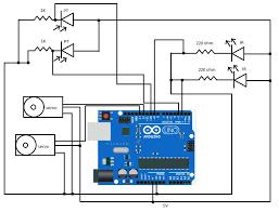 servo motor wiring arduino servo image wiring diagram using servos 7 steps pictures on servo motor wiring arduino