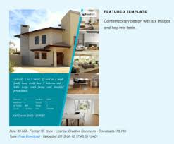 Real Estate Brochure Template Free Free Real Estate Flyer Templates Download Print Today