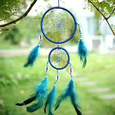 Buy A Dream Catcher Dreamcatcher with Blue Feathers My Feng Shui Store 37