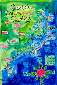 they call this a coastal north ina map but the one and only coastal town they highlighted is wilmington none of the others are coastal at all