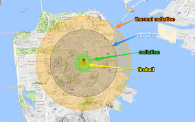 This Nuclear Bomb Map Shows What Would Happen If One