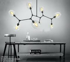 replica lamp globe branching bubble chandelier glass ball modern pendant fixture in chandeliers from lights lighting