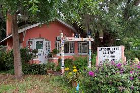 the artistic hand gallery and studio in oviedo florida great art gallery outside of orlando full of ceramics functional pottery paintings and tons of