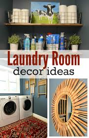 Laundry Decor Laundry Room Makeover Reveal Decor And The Dog