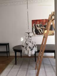 Antiker Französischer Kronleuchter Ins Wohnzimmer Apartment
