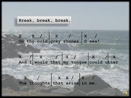 ppt break break break x x x x on thy cold gray break break break