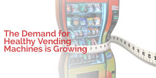 Healthy Vending Machines South Africa Cool Top Vending The Demand For Healthy Vending Machines Is Growing