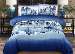 scenery bedding sets 73 100 cotton night city scene