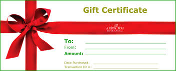 Awesome And Blank Gift Certificate Template V M D Com