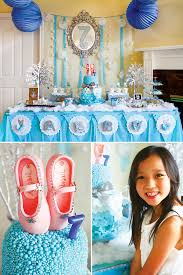 diy birthday party ideas for adults. winter ballerina birthday dessert table diy party ideas for adults