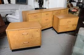 Burl Wood Henredon bedroom set