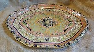 Daher Decorated Ware 11101 Tray Vintage Daher NY Decorated Ware Made In England Tray 100 Fruit 81