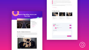 free template designs how to design a blog post template with divis theme builder